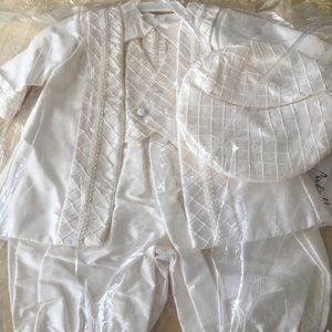 Other - Christie Helene Boys Baptism outfit 9 months NWT!
